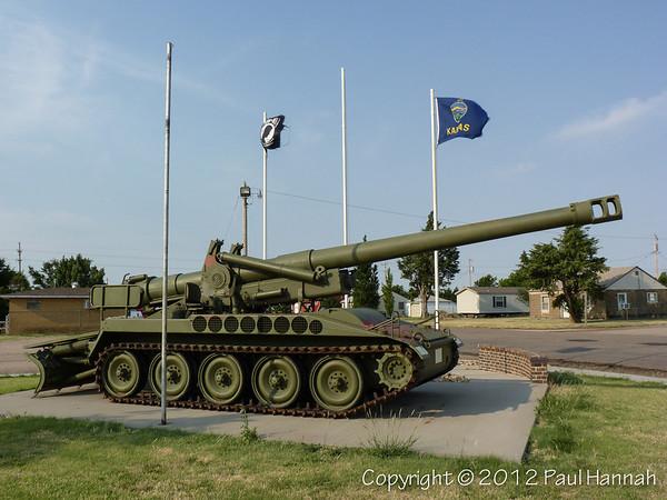 Park - Grinell, KS - M110A2 BMY489