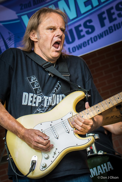 Walter Trout -Lowertown Blues Festival 2015-Mears Park-St. Paul MN