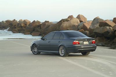 BMW M5 beach shoot:Little Talbot Island, Florida