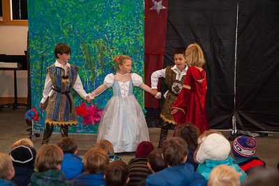 Second Grade Presents A Midsummer NIght's Dream