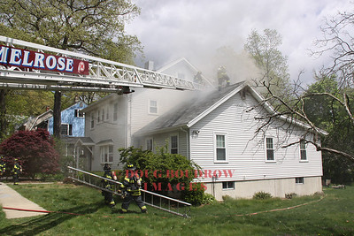 Melrose, MA - Working Fire, 109 Conant Road, 5-14-13