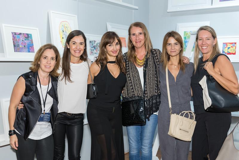 Laura Villareal, Flor Diez, Susana Medrano, Cecilia Freire, Luciana Barral,Christel Maulhardt