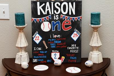 Kaison 1st Birthday