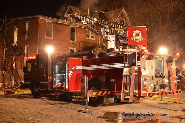 1/16/12 - Shippensburg Borough, PA - E. Garfield St