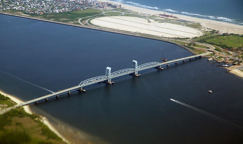 The  Marine Parkway Bridge connecting Rockaway to the rest of Queens