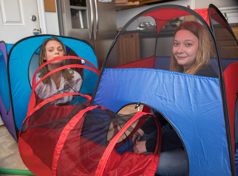 Danielle and Aly in Caleb's Fort.jpg