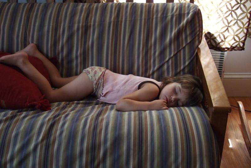 Surprise nap.