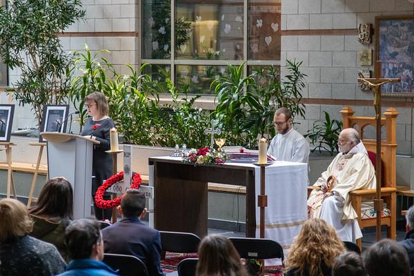 2019-11-03 Loyola Memorial Mass