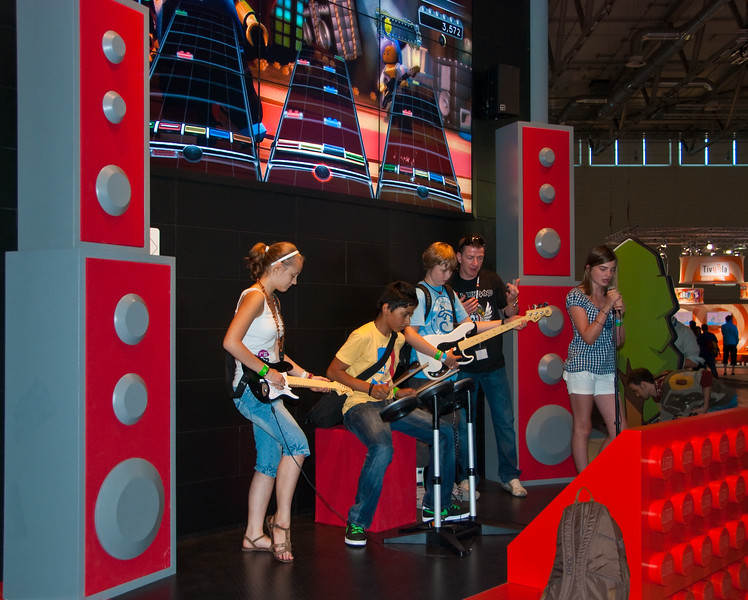 LEGO Rock Band at GamesCom