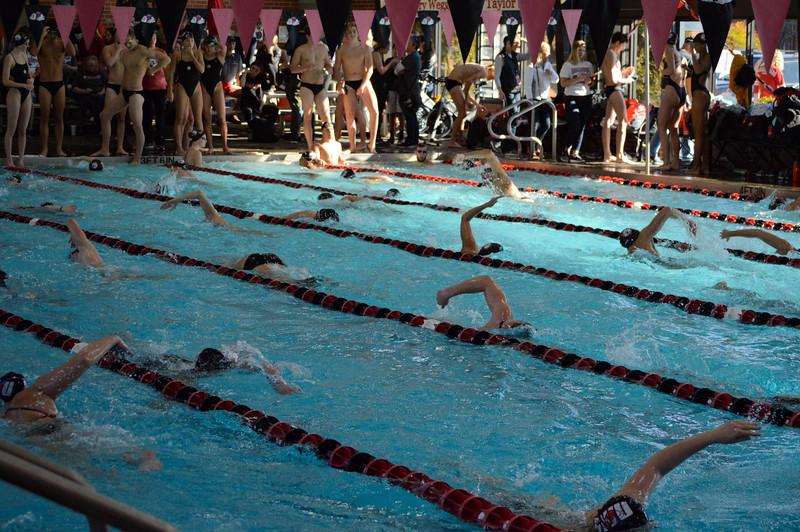 Swimming vs Davidson