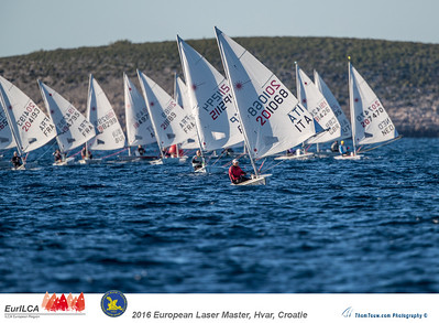 European Laser Master Championship 2016 , Hvar, Croatia