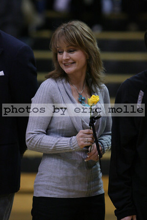 High School Basketball - Fort Smith Southside Rebels at Bentonville Tigers - Boys - Senior Night - 02/20/2009