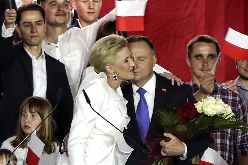 APTOPIX Poland Presidential Election