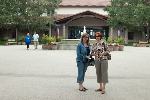 Reagan's Library and hiking trip