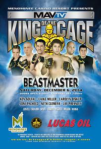 "12-6-14 ""Beastmaster"" - Keshena WI"