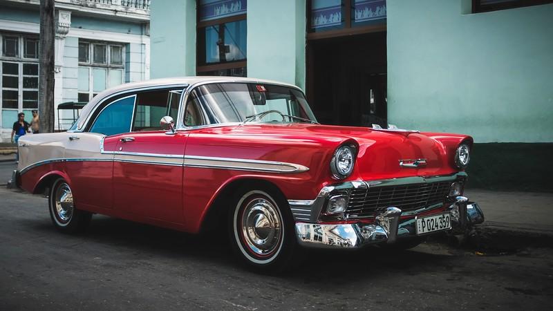 Cuban car selection
