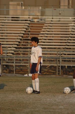 Boys Soccer 4/19/05