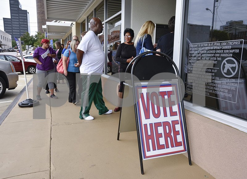 Early voting is breaking records in Texas' 10 biggest counties