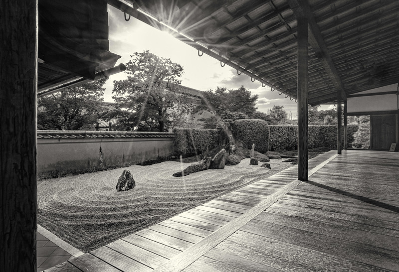 Daitokuji Temple. Rock Garden #1.