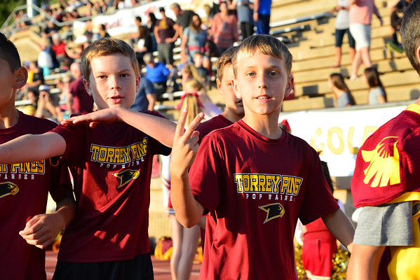 Pop Warner night, 8-26-16