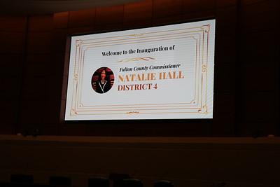 Commissioner Hall Public Inauguration Ceremony 1/7/21
