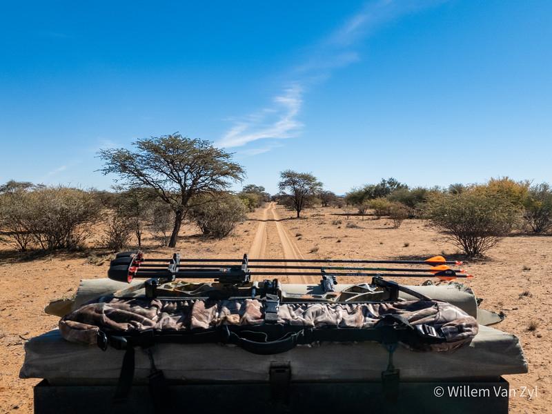 20190705 Bowhunting near Olifantshoek, Northern Cape