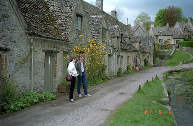 One of the sales guys from my Rep, and his wife.  We went visiting cottages in one of the many typical old villages of the Cotswolds in England.