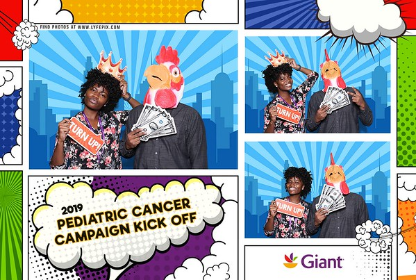 Giant Food - 2019 Pediatric Cancer Campaign Kickoff