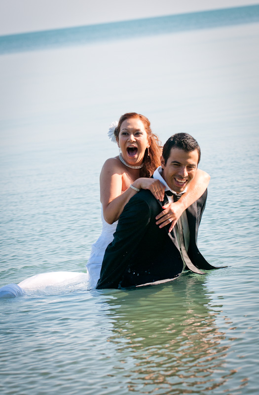 Susana and Chilo Trash the Dress