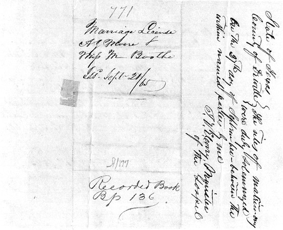 1865 ML - A.J. Moore and Melissa Boothe ML771 Sep 21, 1865 a.jpg