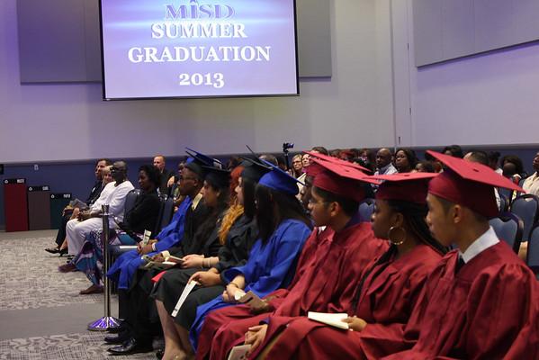2013 MISD Summer Graduations