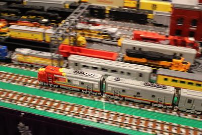 Holiday Junction/Brickopolis - Cincinnati Museum Center - 22 Dec. '17