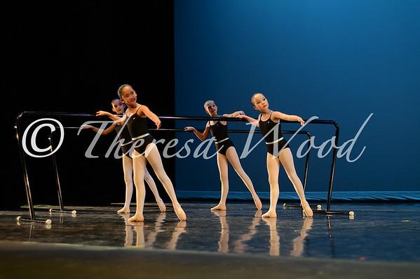 Maple Showcase 2014 - Etudes - Ballet Class on Stage