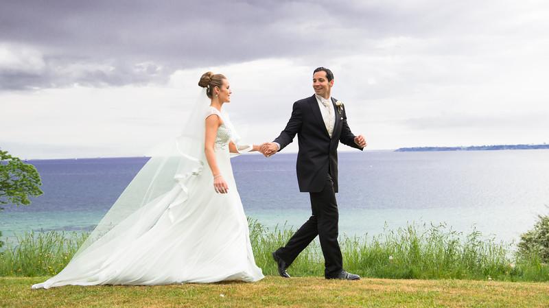 S & B Romantic castle wedding