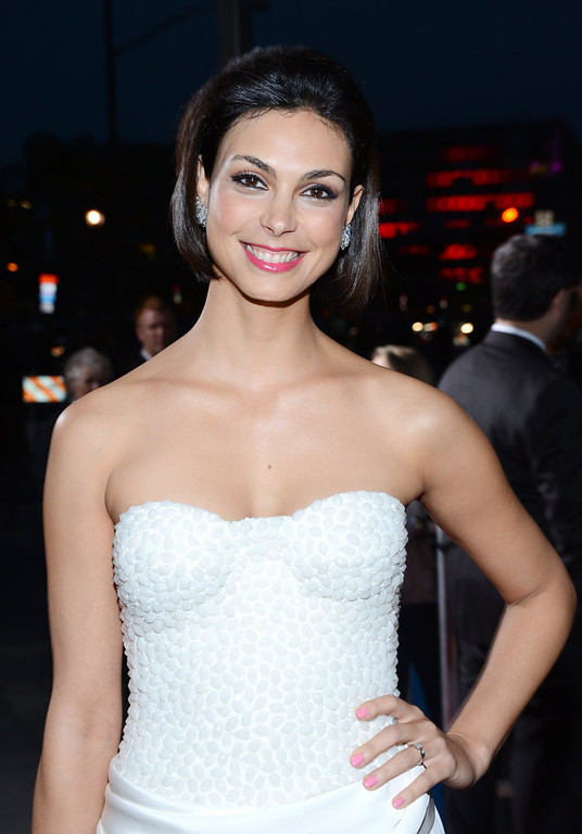 . Morena Baccarin attends the 34th Annual People\'s Choice Awards at Nokia Theatre L.A. Live on January 9, 2013 in Los Angeles, California.  (Photo by Jason Kempin/Getty Images for PCA)