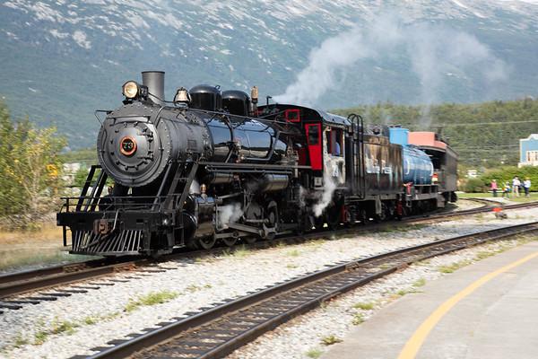 Steam Engine White Pass & Yukon Route Railroad