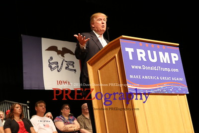 Donald Trump Oskaloosa 7-25-15