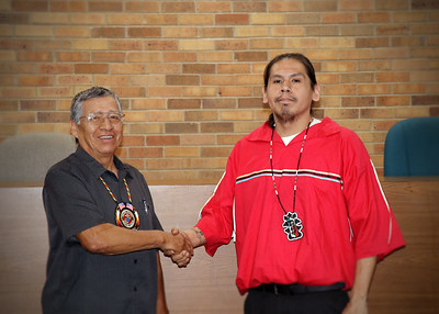 Dawson Davenport Sworn In As New Tribal Council Member