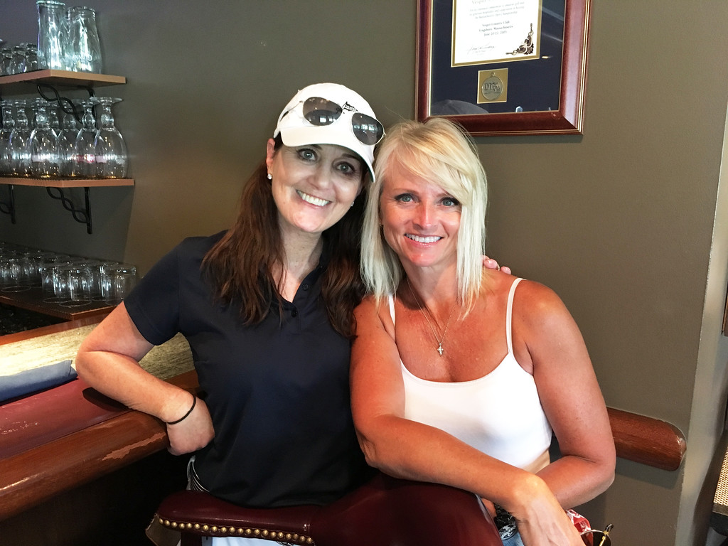 . Christine Liva and Melissa Duffy, both of Chelmsford