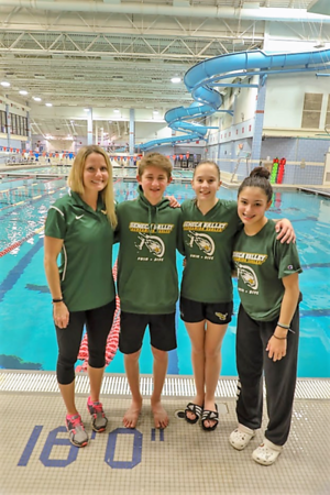Swimming Regional Diving Championships 2-15-2019 by Pat Shuster