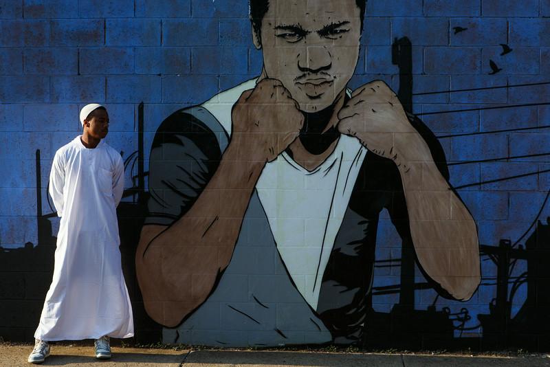 Chris Stain, mural Philadelphia PA