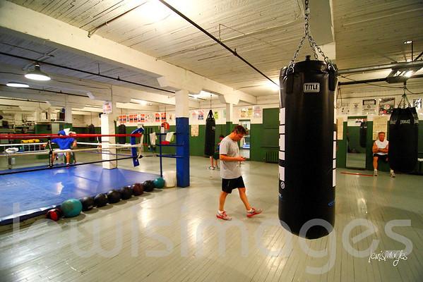 Regina Boxing Club - Oct 12/12 Training & Sparring