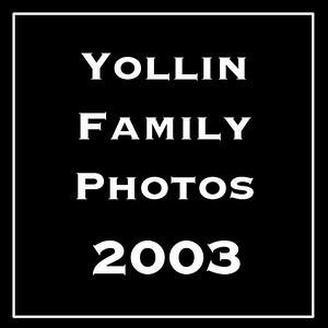 The Yollin Family Photos 2003