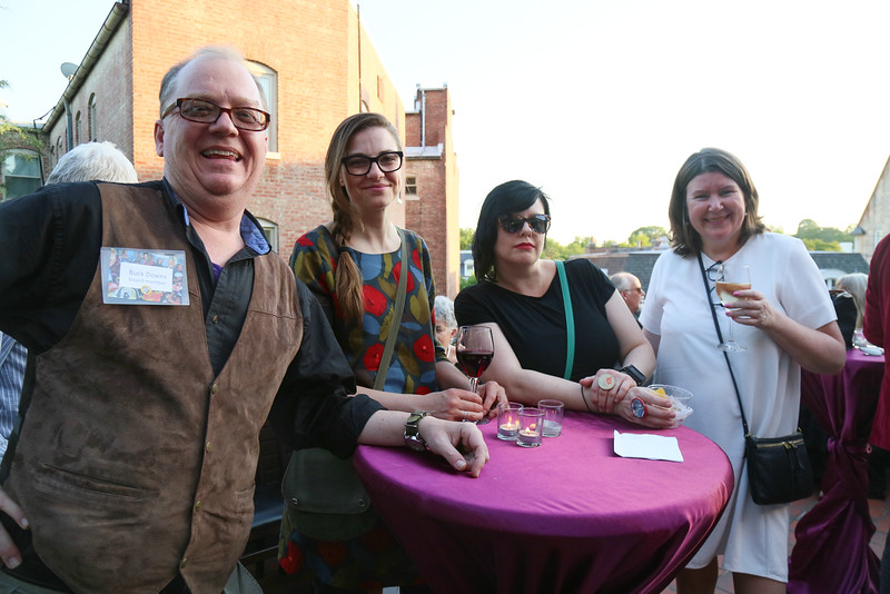 Buck Downs, Sarah Blood, Heloisa Escudero, Jackie Hoysted, DC Art Center, Cuisine des Artistes, the Woodrow Wilson House, May 24, 2018