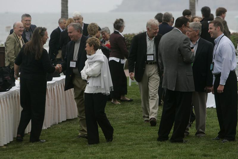 (L-R) Don Jones, Bob Anderson, Lynne Mercer, Bill Jones, Carol Jones, Bruce Harned, Kip Harrell, David Morris, and Brent Morris