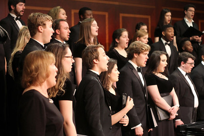 2019 Mercer Singers in Fickling Hall