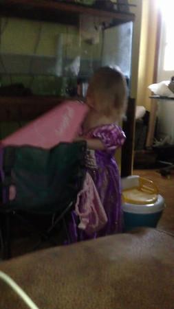 Backpack Princess