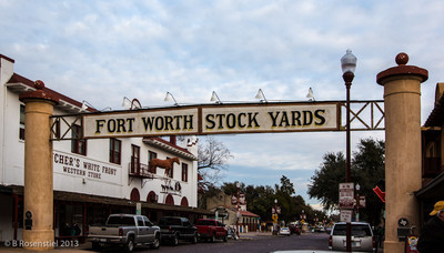 Ft Worth Stockyards