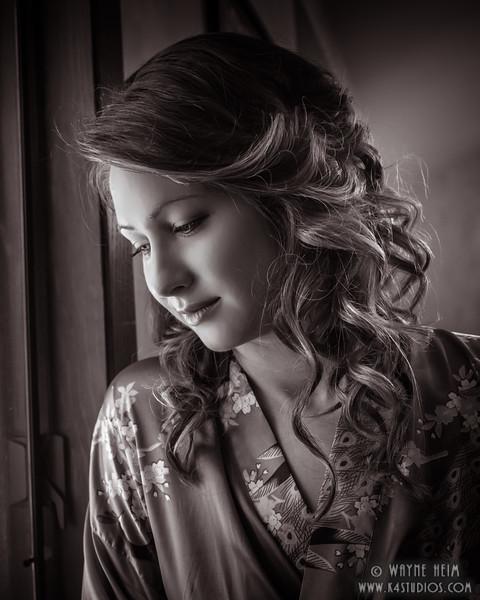 Waiting      Black and White Photography by Wayne Heim