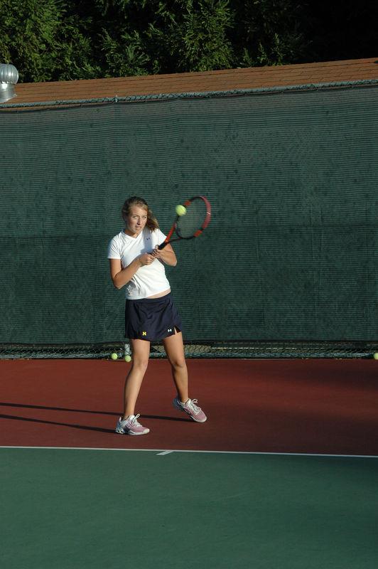 Menlo Girls Tennis 2005 - Player 6